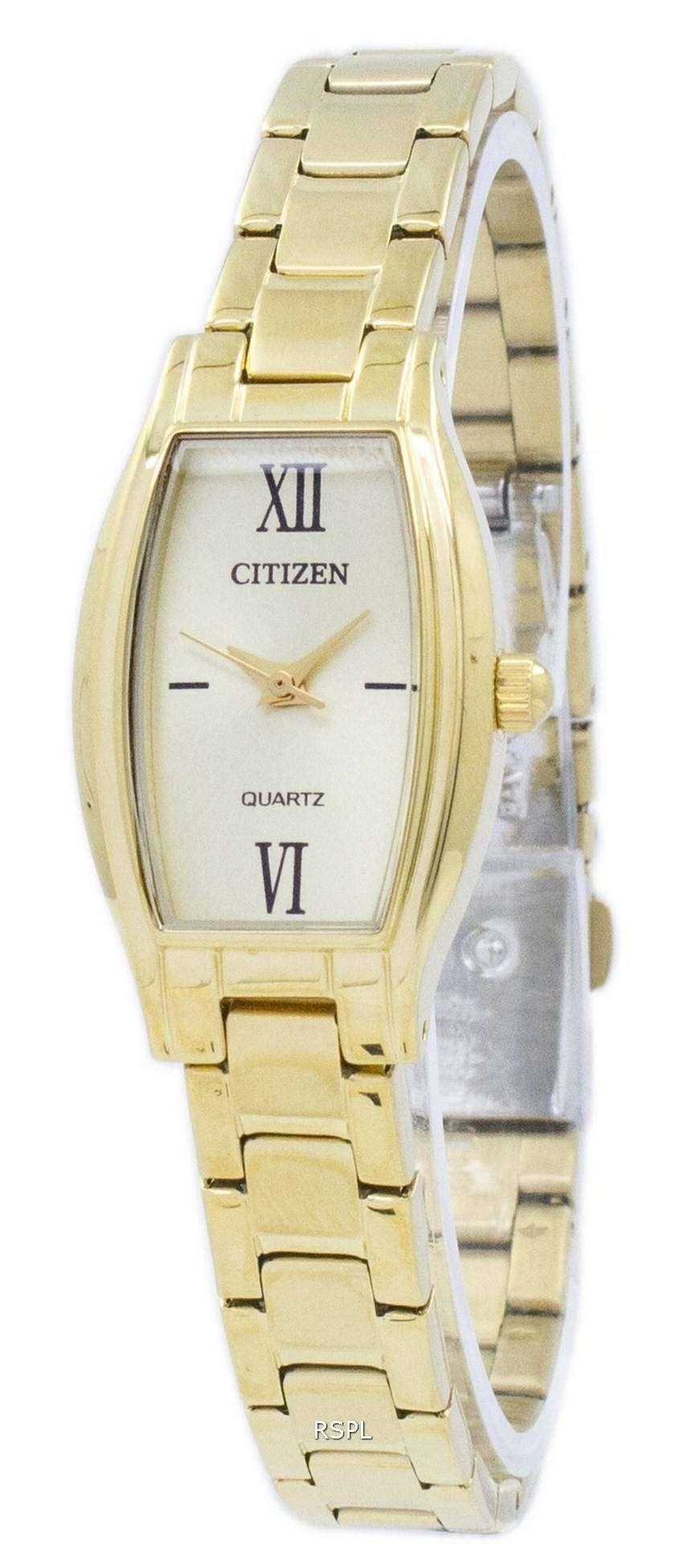 シチズンクォーツ アナログ 52-p EJ6112 レディース腕時計