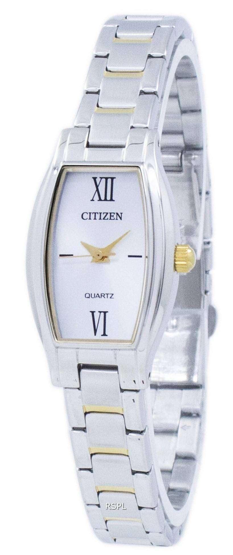 シチズンクォーツ アナログ EJ6114 57A レディース腕時計