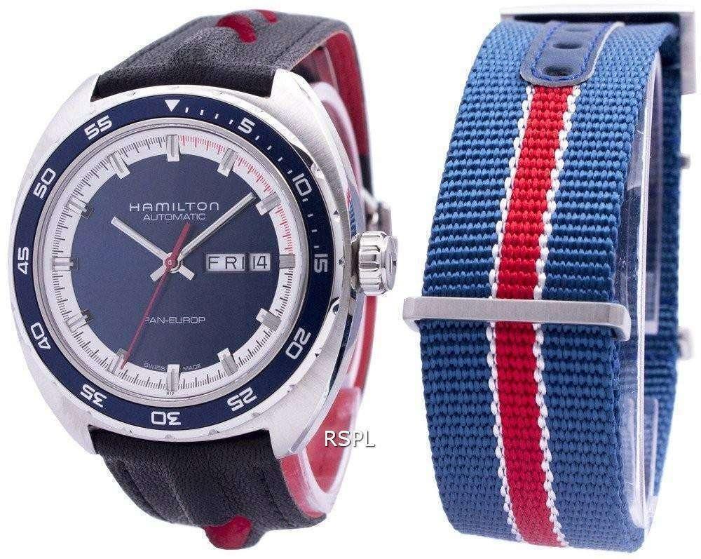 ハミルトン アメリカン クラシック パン ユーロ自動 H35405741 メンズ腕時計
