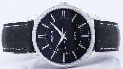 カシオ Enticer アナログ クオーツ MTP 1303 L 1AV MTP1303L-1AV メンズ腕時計