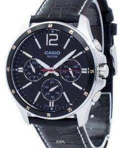 カシオ Enticer アナログ クオーツ MTP 1374 L 1AV MTP1374L-1AV メンズ腕時計