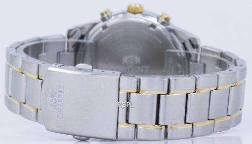 オリエント スポーツ クロノグラフ クォーツ日本製 RA KV0003S00C メンズ腕時計