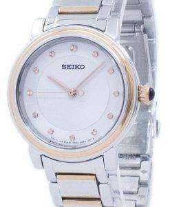セイコー発見より水晶ダイヤモンド アクセント SRZ480 SRZ480P1 SRZ480P レディース腕時計