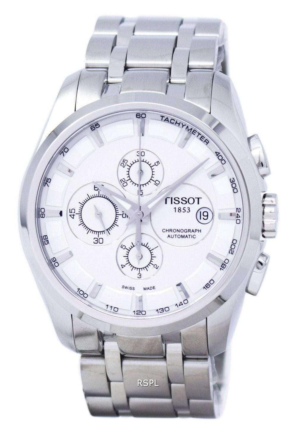 ティソ T-クラシック クチュリエ クロノグラフ自動 T035.627.11.031.00 T0356271103100 メンズ腕時計