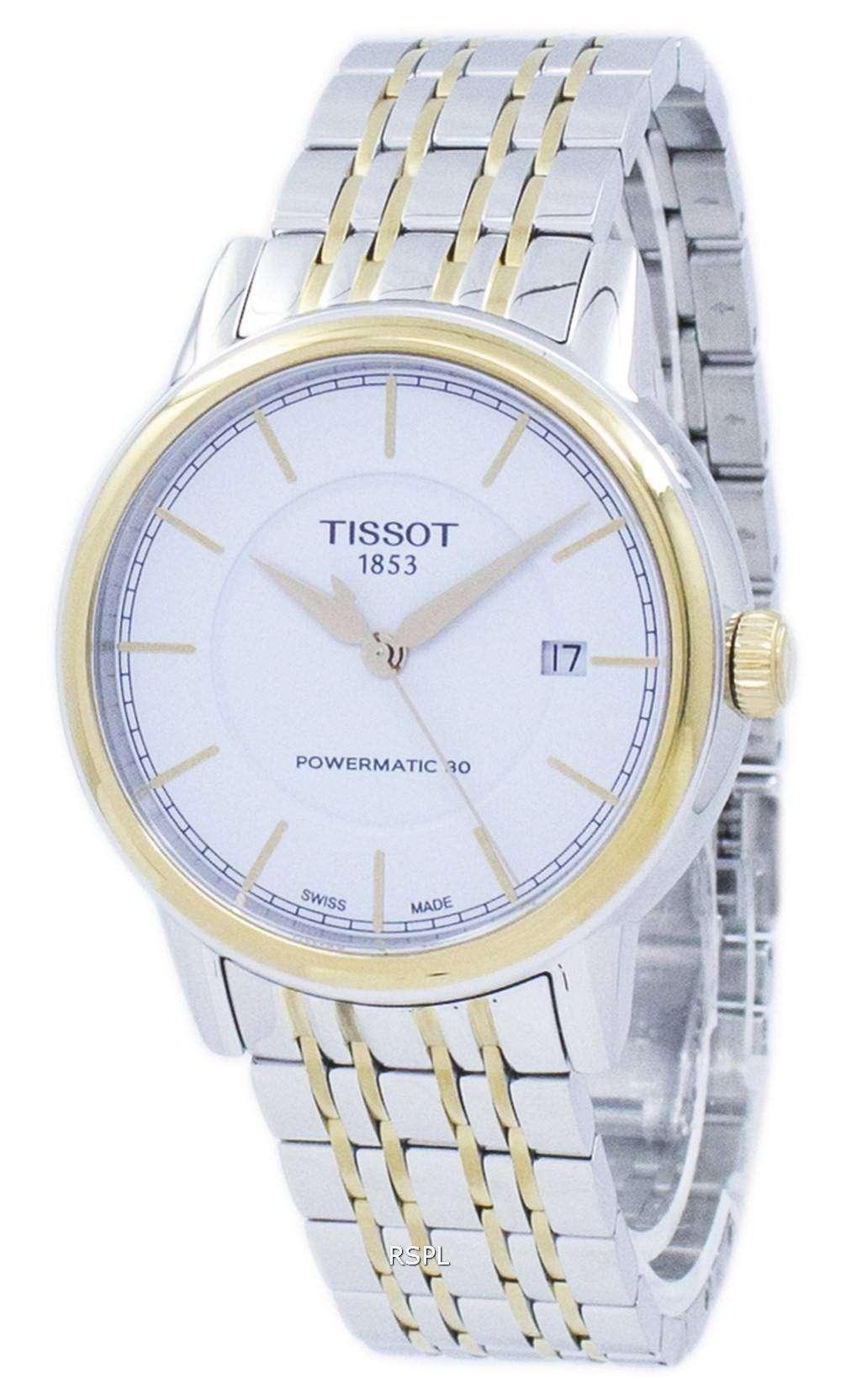 ティソ T-クラシック カーソン Powermatic 80 T085.407.22.011.00 T0854072201100 メンズ腕時計