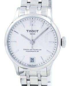 ティソ T-クラシック Chemin デ トゥレール Powermatic 80 女性 T099.207.11.037.00 T0992071103700 レディース腕時計