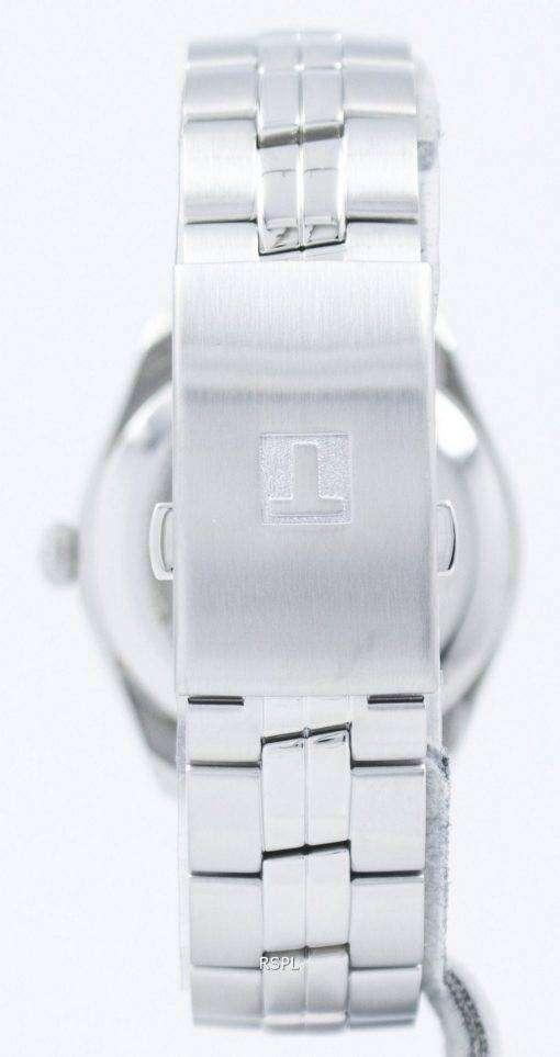 ティソ T-古典的な PR 100 デュアル タイム石英 T101.452.11.061.00 T1014521106100 メンズ腕時計