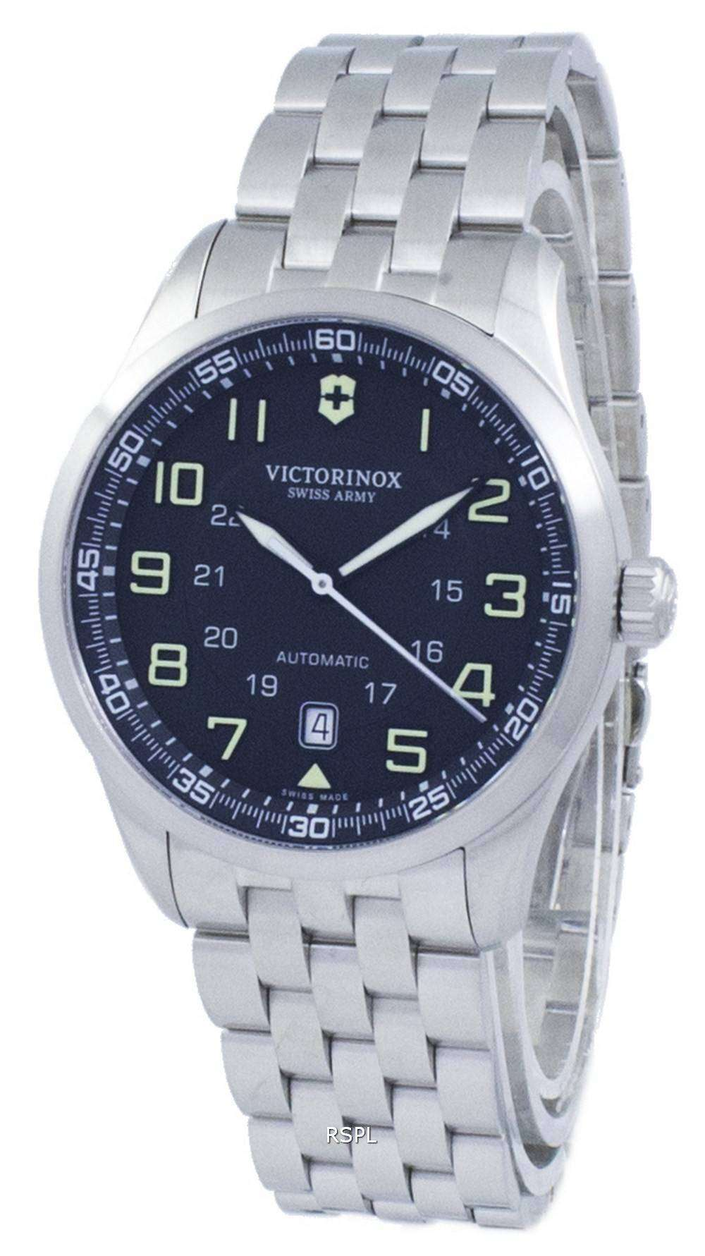 Airboss ビクトリノックス スイスアーミー自動 241508 男性用の腕時計