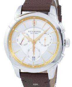 ビクトリノックス アライアンス スイスアーミー クロノグラフ クォーツ 241750 メンズ腕時計