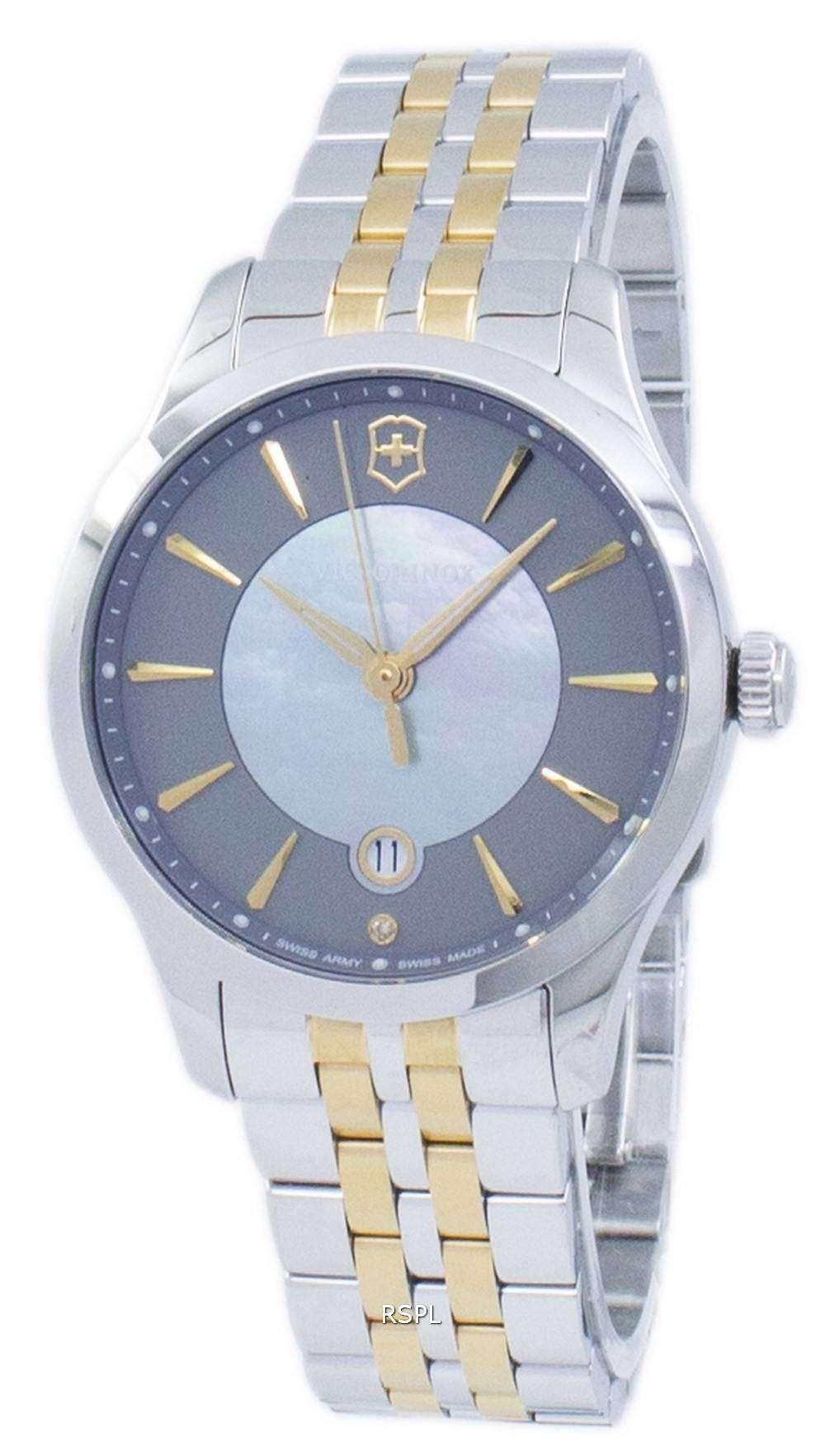 ビクトリノックス アライアンス小さなスイスアーミー石英 241753 レディース腕時計