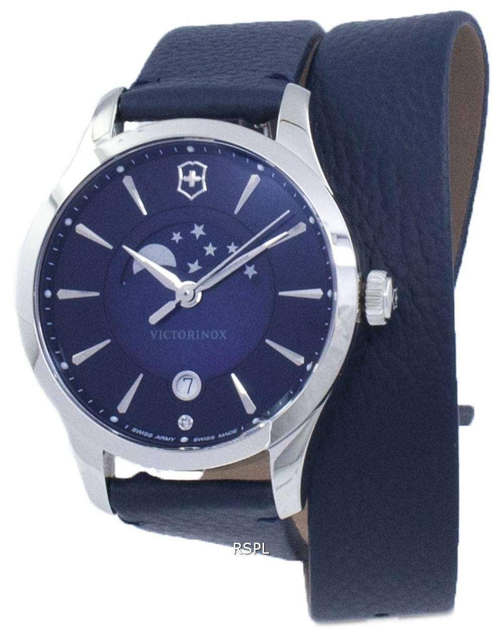 ビクトリノックス アライアンス小さなスイスアーミー月水晶 241755 レディース腕時計