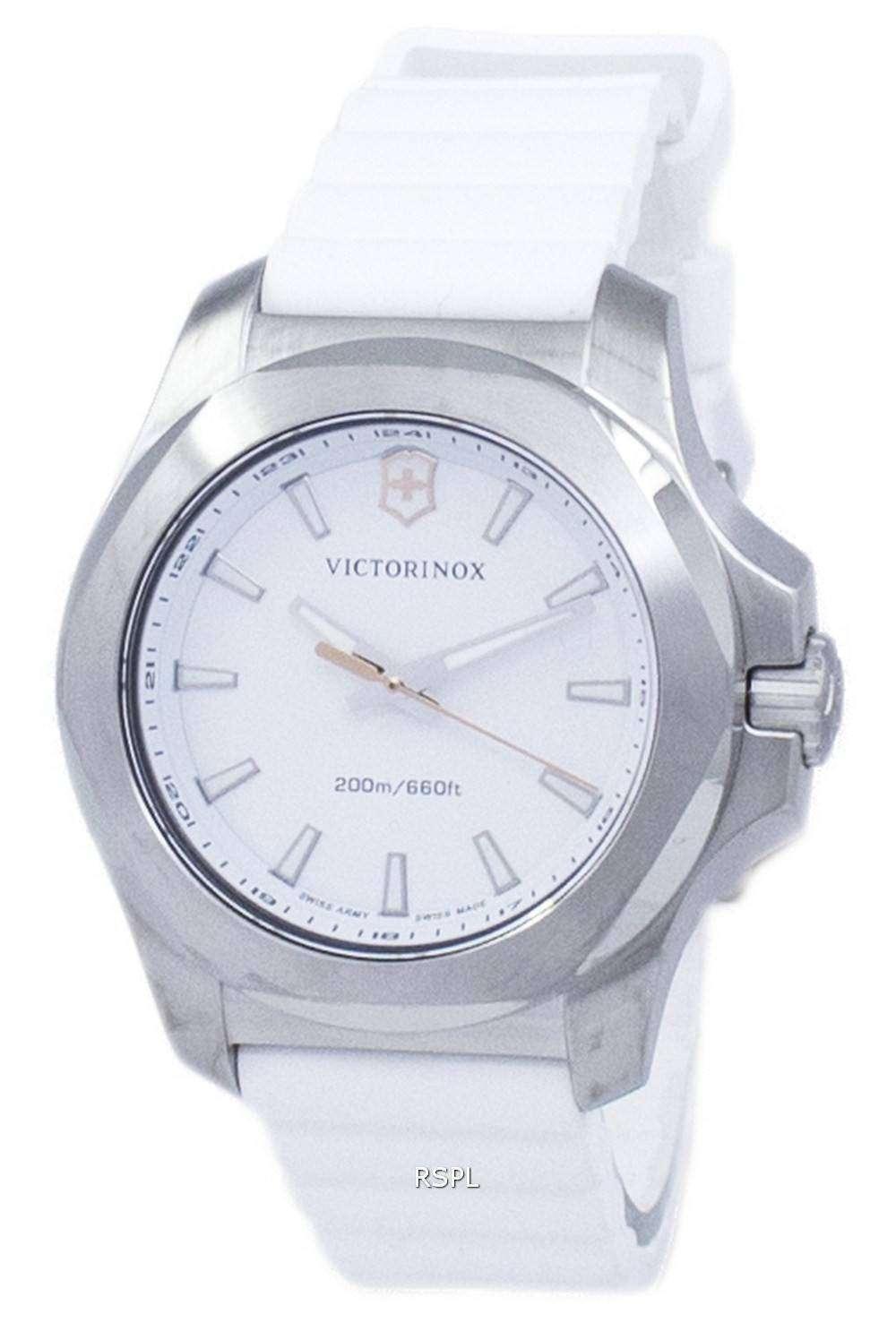ビクトリノックス I.N.O.X. V スイス軍クォーツ 200 M 241769 女性の腕時計