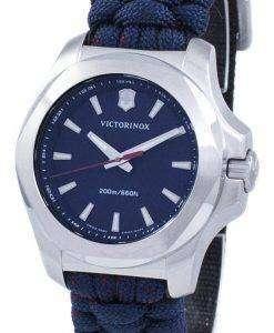 ビクトリノックス I.N.O.X. V スイス軍クォーツ 200 M 241770 女性の腕時計