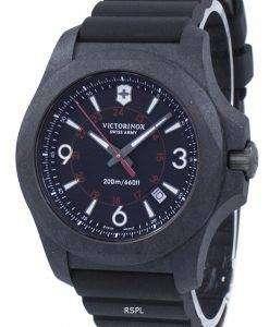 ビクトリノックス I.N.O.X. 炭素スイスアーミー石英 241777 メンズ腕時計