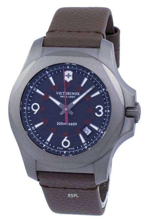 I.N.O.X. チタン クオーツ 200 M 241778 ビクトリノックススイスアーミーメンズの時計