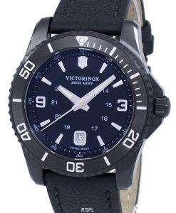 ビクトリノックス マーベリック大きな黒版スイス軍石英 241787 メンズ腕時計