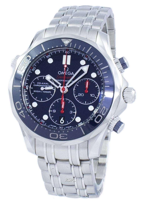 オメガ シーマスター ダイバー 300 M コーアクシャル クロノグラフ自動 212.30.42.50.03.001 メンズ腕時計