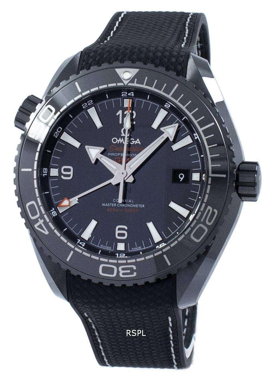 オメガ シーマスター プロフェッショナル プラネットオー シャン 600 M GMT オートマティック 215.92.46.22.01.001 メンズ腕時計