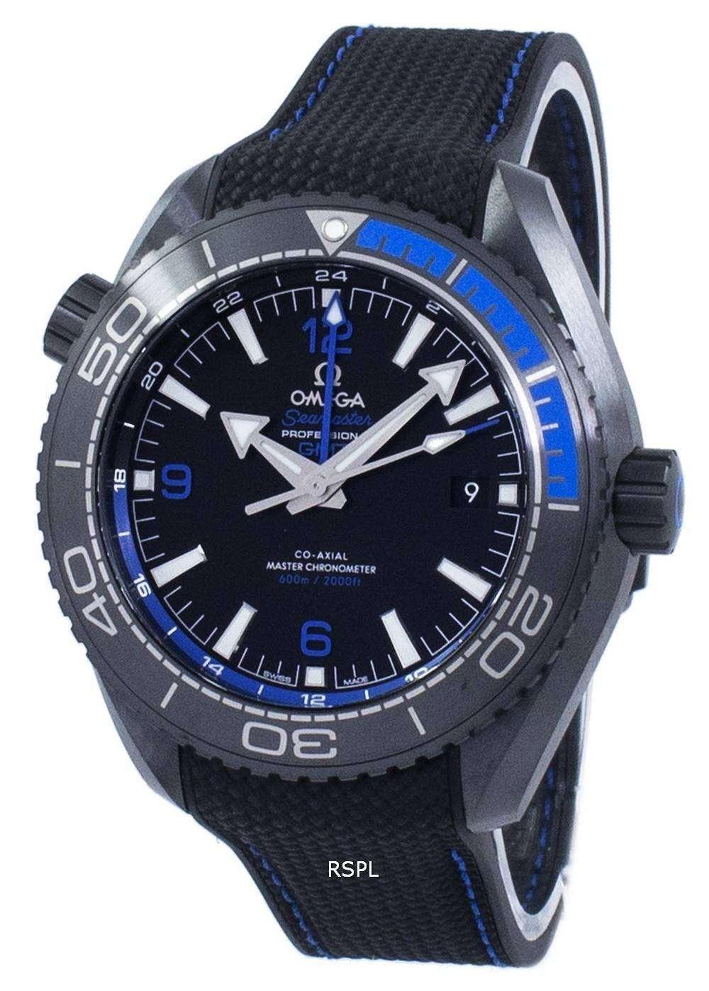 オメガ シーマスター プロフェッショナル プラネットオー シャン GMT オートマティック 215.92.46.22.01.002 メンズ腕時計
