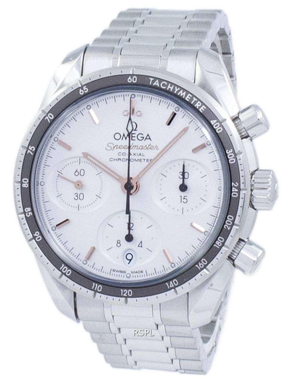 オメガ スピード マスター コーアクシャル クロノグラフ自動 324.30.38.50.02.001 ユニセックス腕時計