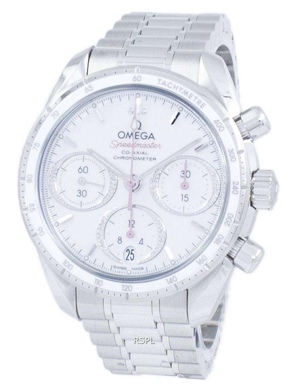 オメガ スピード マスター コーアクシャル クロノグラフ自動 324.30.38.50.55.001 メンズ腕時計