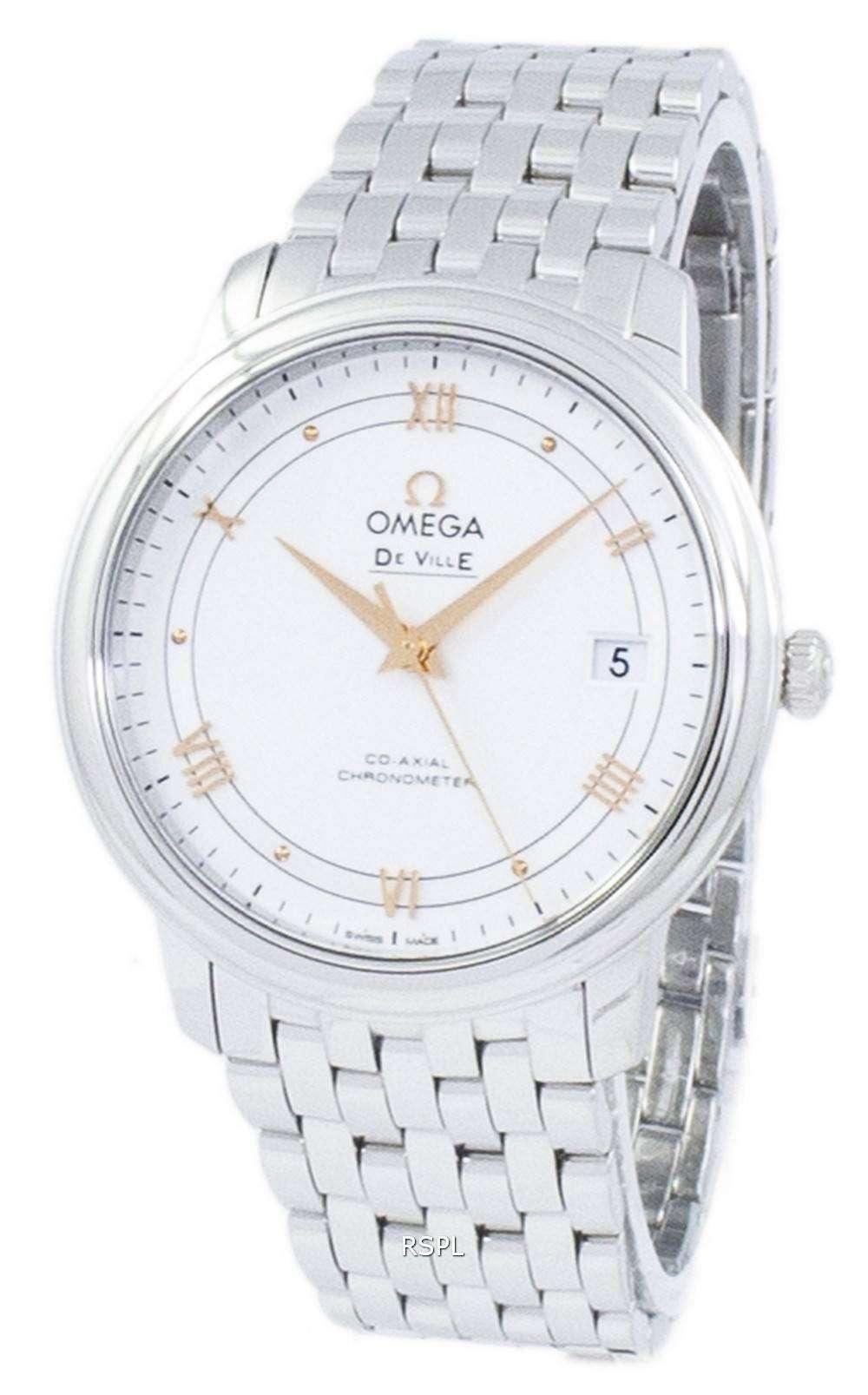 オメガ デ ・ ヴィル プレステージ コーアクシャル クロノメーター自動 424.10.37.20.02.002 メンズ腕時計