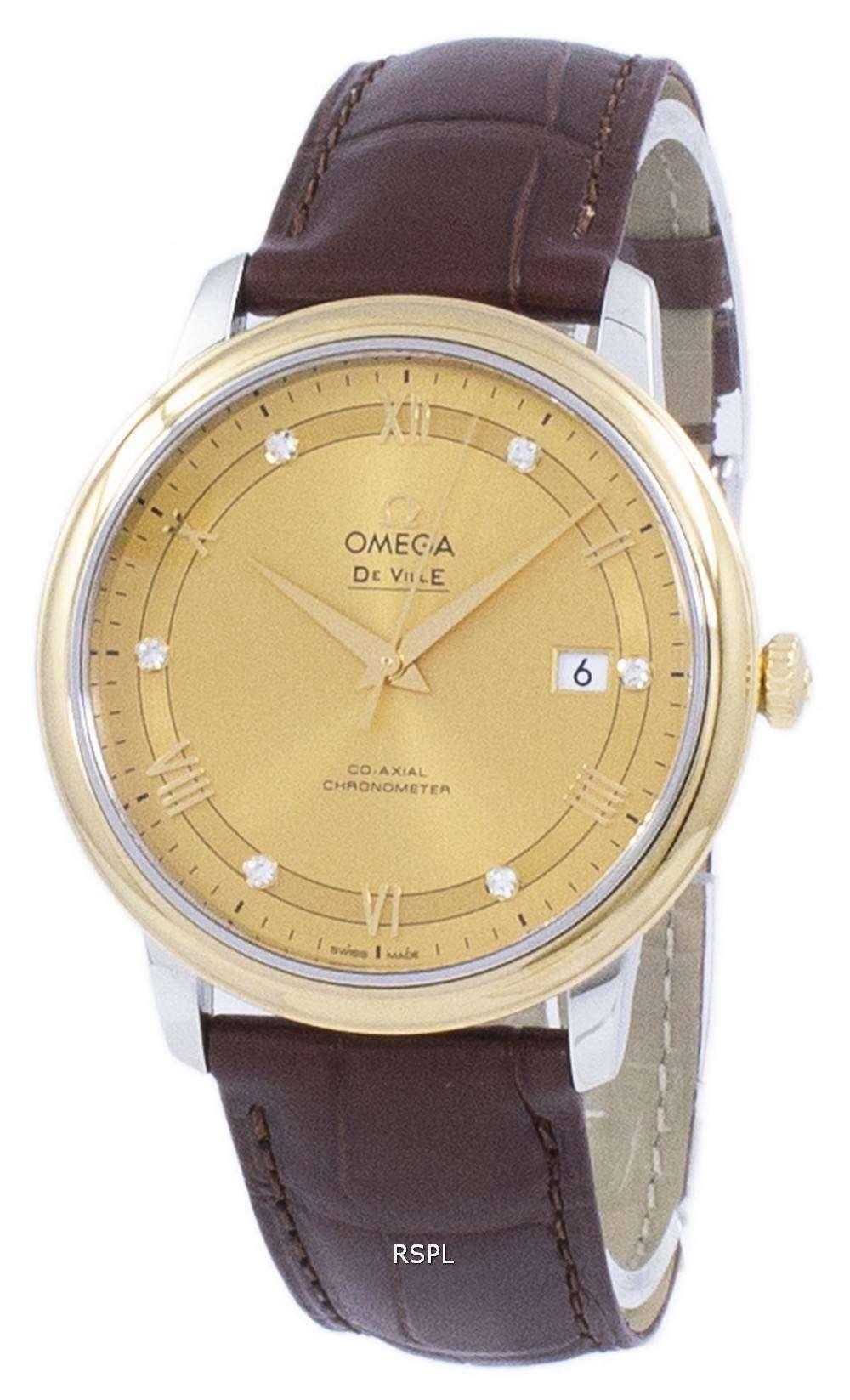 オメガ デ ・ ヴィル プレステージ コーアクシャル クロノメーター自動 424.23.40.20.58.001 メンズ腕時計
