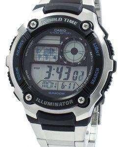 カシオ青年照明世界時間デジタル AE-2100WD-1AV AE2100WD-1AV メンズ腕時計