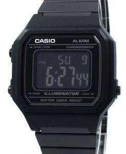 カシオ照明クロノグラフ アラーム デジタル B650WB 1B ユニセックス腕時計