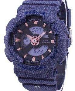 カシオ G ショック ベビー G 世界時間アナログ デジタル BA 110DE 2A1 BA110DE2A1 レディース腕時計