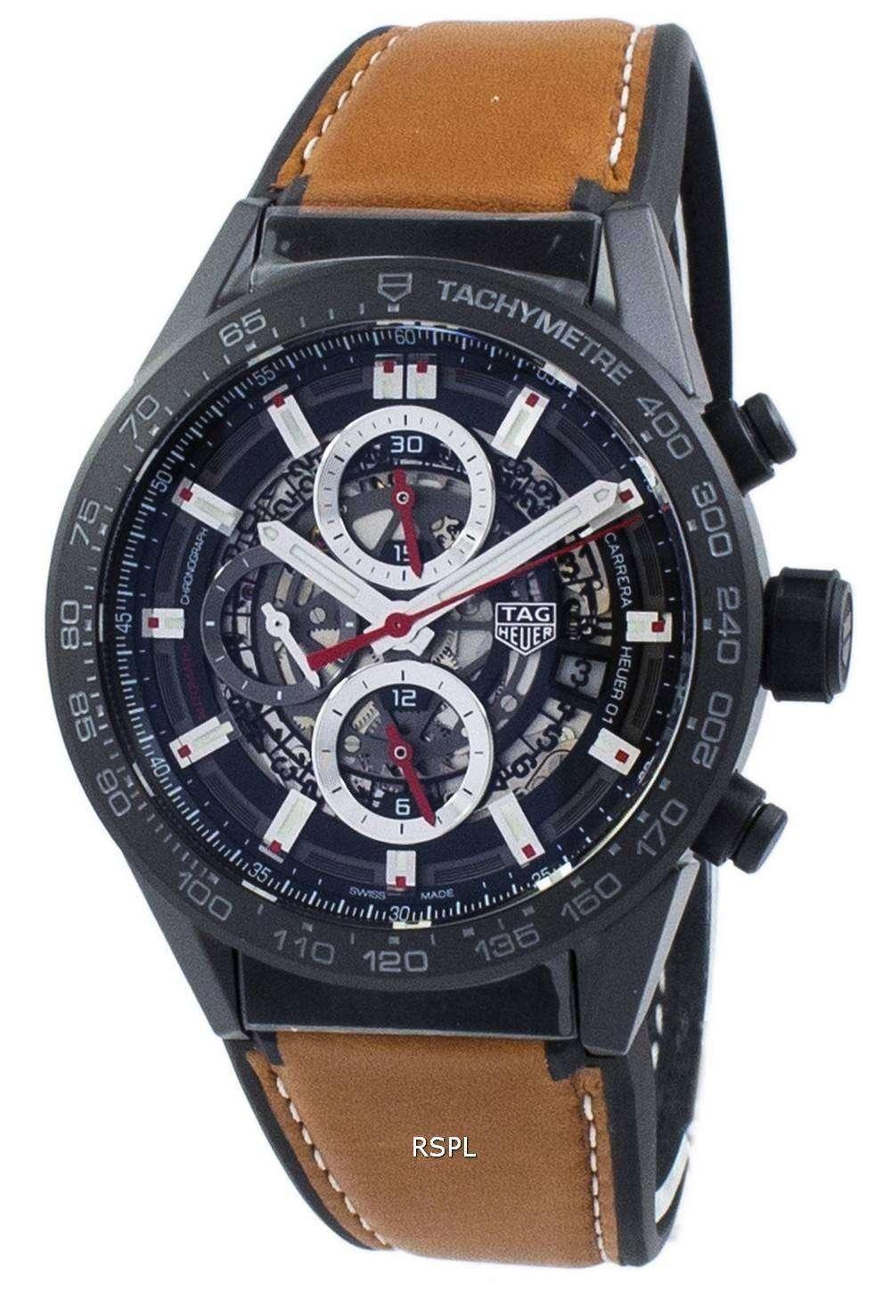 タグ ・ ホイヤー カレラ クロノグラフ自動 CAR2090。FT6124 メンズ腕時計
