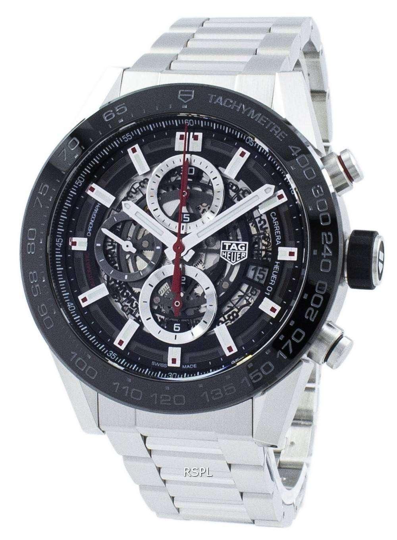 タグ ・ ホイヤー カレラ クロノグラフ自動 CAR2A1W。BA0703 メンズ腕時計