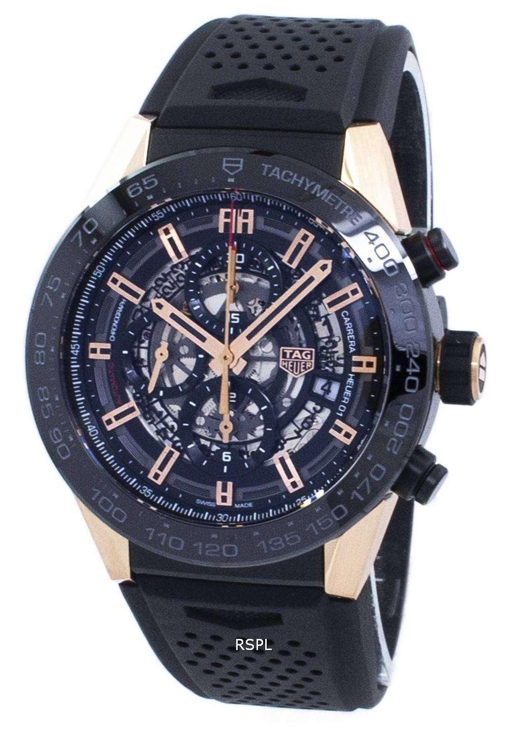 タグ ・ ホイヤー カレラ クロノグラフ自動 CAR2A5A。FT6044 メンズ腕時計