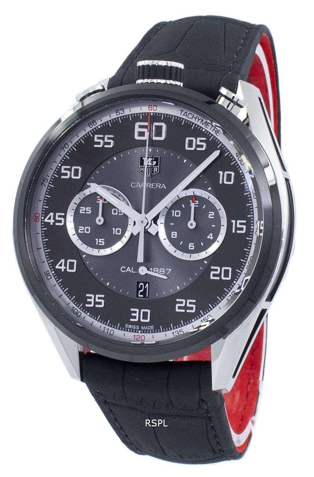 タグ ・ ホイヤー カレラ クロノグラフ自動 CAR2C12。FC6327 メンズ腕時計