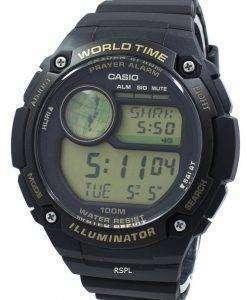 カシオ照明時間世界祈りアラーム デジタル公認会計士 100 9A CPA100-9 a メンズ腕時計