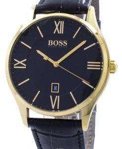 ヒューゴ ボス知事石英 1513554 メンズ腕時計