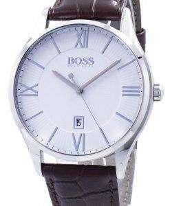 ヒューゴ ボス知事石英 1513555 メンズ腕時計