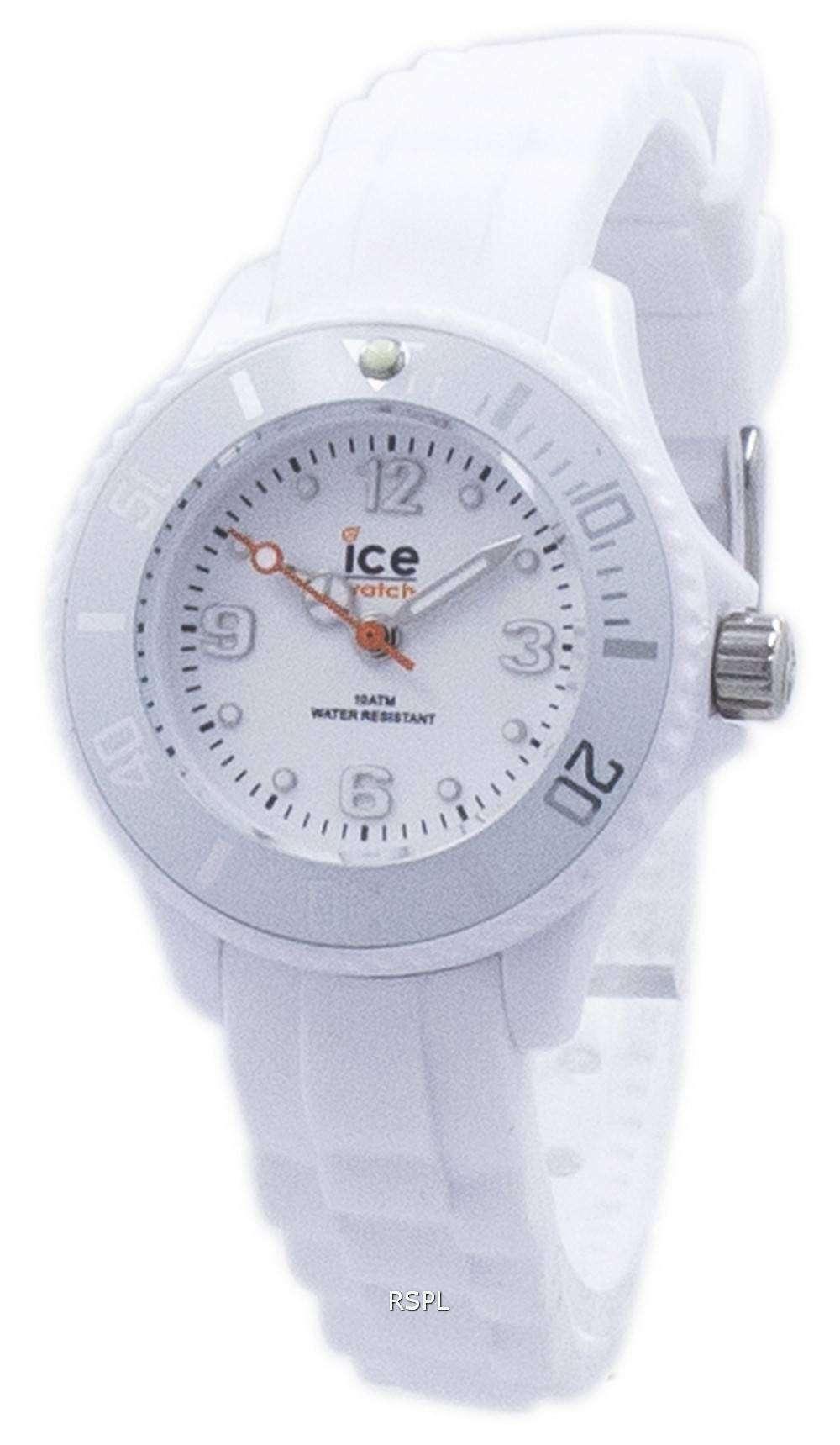 氷永遠に余分な小さな石英 000790 子どもの腕時計