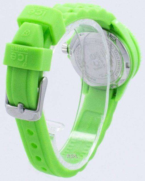 氷永遠に余分な小さな石英 000792 子どもの腕時計