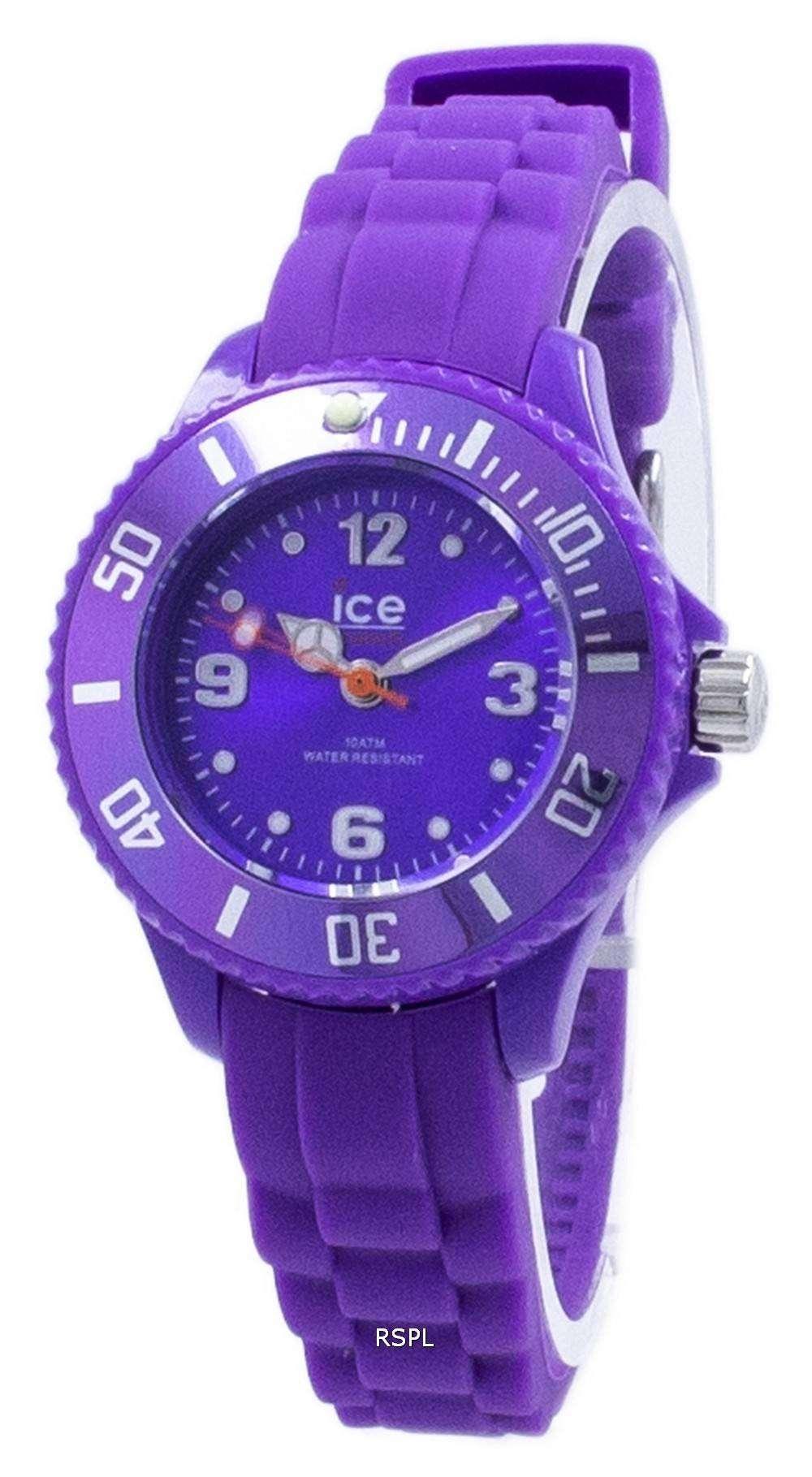 氷永遠に余分な小さな石英 000797 子どもの腕時計