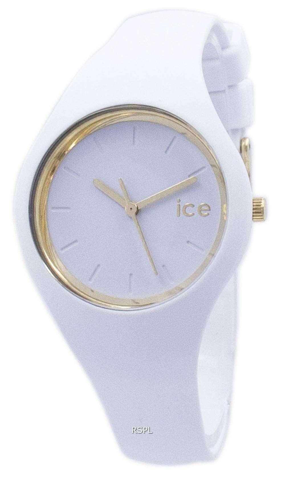 氷のグラムの小さな石英 000981 レディース腕時計