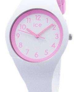 氷のオラ キャンディ ホワイト小さな石英 014426 子どもの腕時計