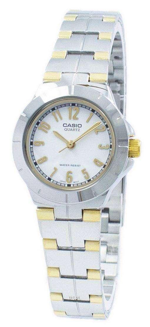 カシオ Enticer アナログ クオーツ 7 a LTP-1242SG LTP1242SG-7 a レディース腕時計