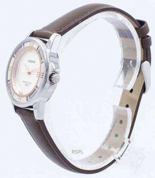 カシオ Enticer アナログ クオーツ LTP 1391 L 5AV LTP1391L 5AV レディース腕時計
