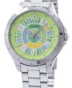 カシオ アナログ クオーツ LTP-E129D-3 a LTPE129D-3 a レディース腕時計