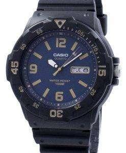 カシオ若者ダイバー クォーツ MRW 200 H 2B3V MRW200H 2B3V メンズ腕時計