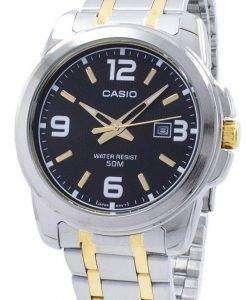カシオ Enticer アナログ クオーツ MTP-1314SG-1AV MTP1314SG-1AV メンズ腕時計