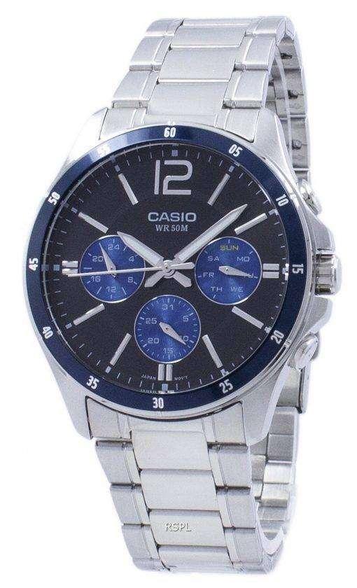 カシオ Enticer アナログ クオーツ MTP-1374 D-2AV MTP1374D-2AV メンズ腕時計