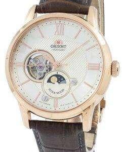 古典的な日・月オープン ハート自動日本 RA AS0003S10B メンズ腕時計オリエントします。