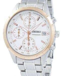 セイコー クロノグラフ タキメーター石英 SNDV56 SNDV56P1 SNDV56P レディース腕時計